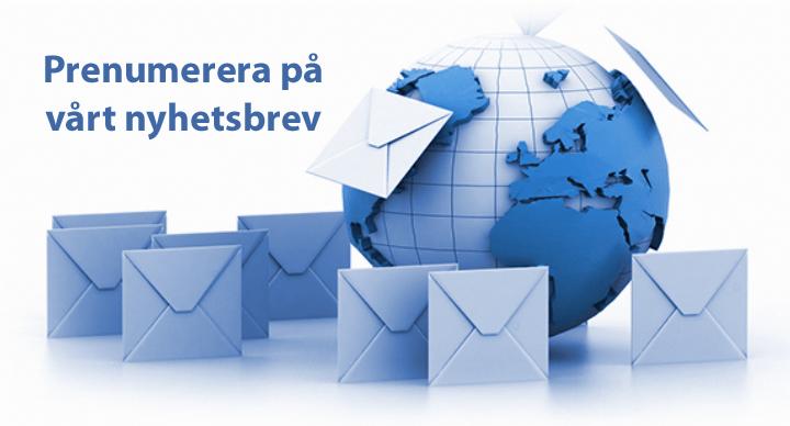 Beställ nyhetsbrev